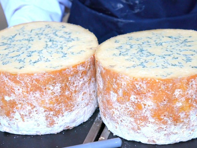 How traditional English Stilton cheese is made at a 100-year-old dairy