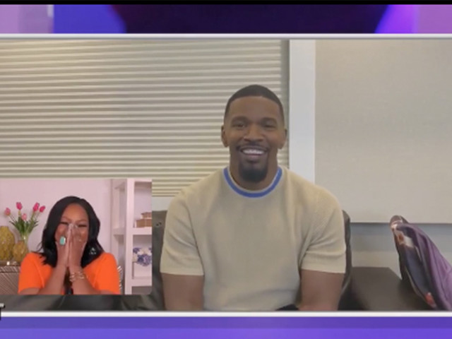 'Oh You Fancy Huh?': Jamie Foxx Surprises 'The Real' Co-Host and Former Co-Star Garcelle Beauvais with Heartfelt Congratulatory Message