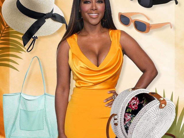 """Kenya Moore's Amazon Summer Fashions Are """"Gone with the Wind Fabulous"""""""