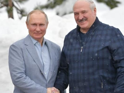 West Adds Belarus To New Axis Of Evil