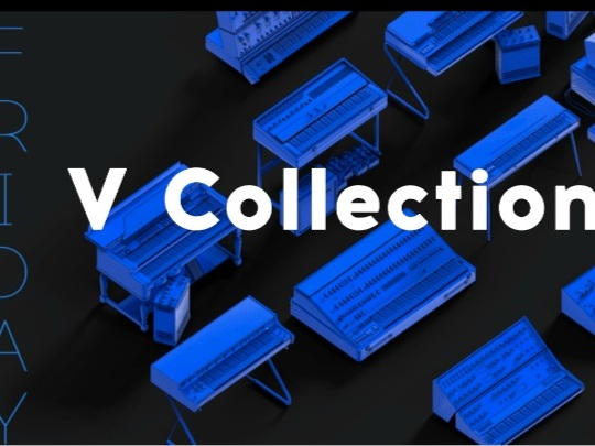 Black Friday Starts Here With Arturia V Collection 7 Deal