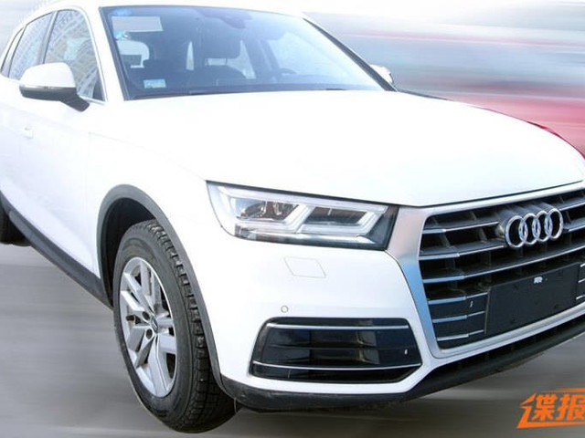 2018 Audi Q5 Long wheelbase Spotted; Interior Uncovered