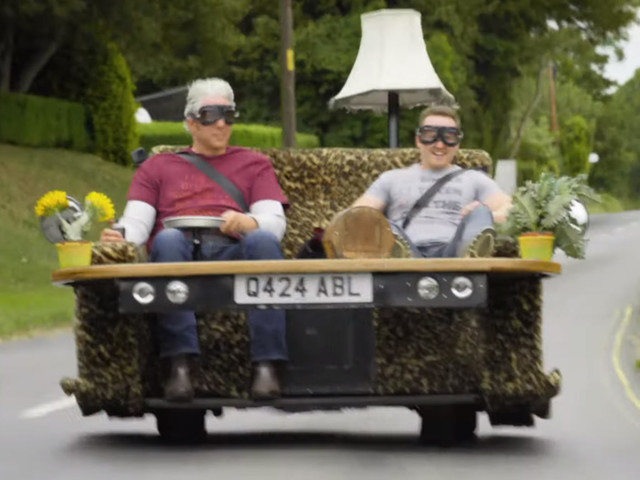 This Is What Fooling Around In Edd China's Driveable Sofa Feels Like
