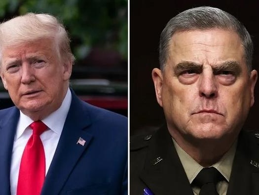 Book Reveals Gen Milley Secretly Sabotaged Trump, Called China, Sparking Talk Of Treason