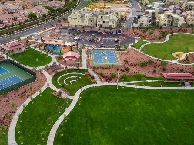 Live large in a Summerlin condo or town home