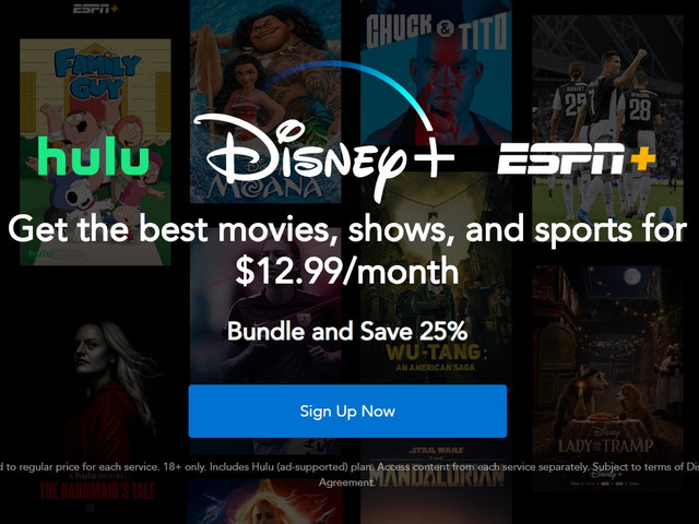 How to get the new Disney+ bundle with ad-free Hulu and ESPN+