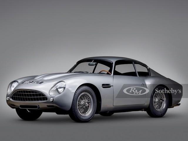 1961 Aston-Martin DB4GT--Zagato