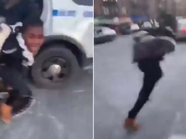 Teen busted for trying to help her two pals escape NYPD custody