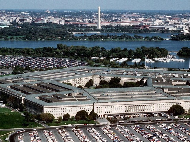 Authorities arrest man reportedly attempting to blow up a vehicle at the Pentagon