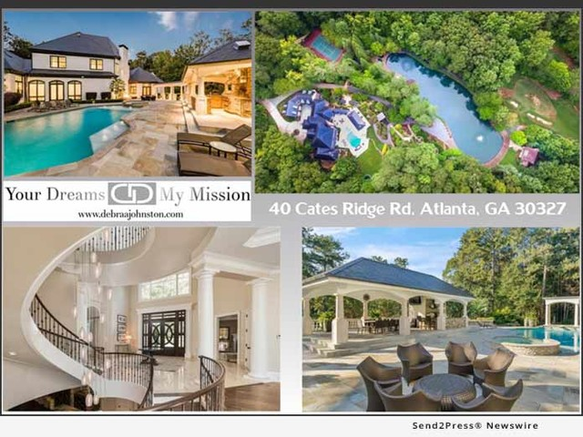 Debra Johnston Offers an Atlanta Luxury Estate Recognized as Exceptional and Extraordinary on a National Level