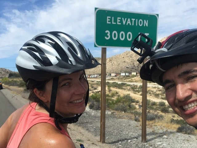 My husband and I quit our jobs in NYC to bike across the country and relocate to LA. Here's exactly how we broke even in costs and job searched on the ride.