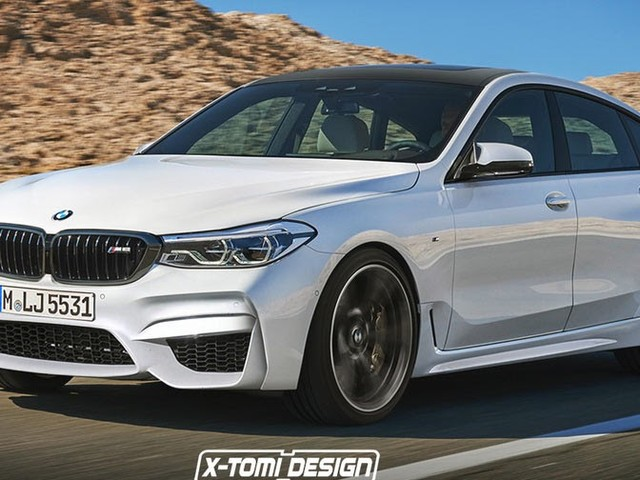 BMW's New 6-Series GT Gets Rendered In M6 Guise
