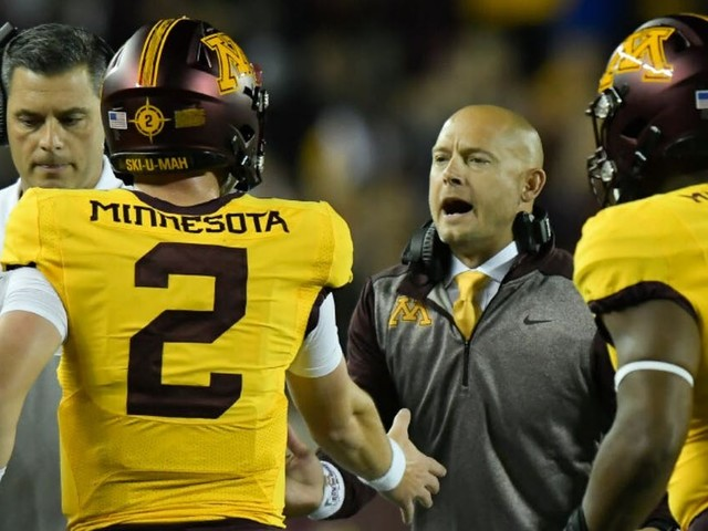 P.J. Fleck, Gophers fired up for Wolverines