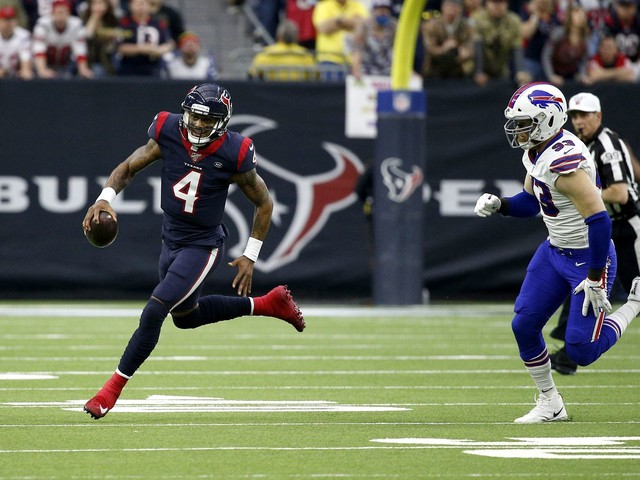 Texans beat Bills, 22-19, in overtime thriller, capping big comeback in playoff victory