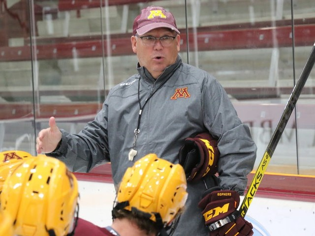 College hockey's long season is just what Bob Motzko and his young Gophers need