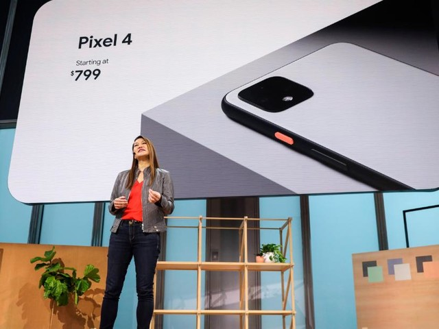 Google unveils the new Pixel 4 smartphone