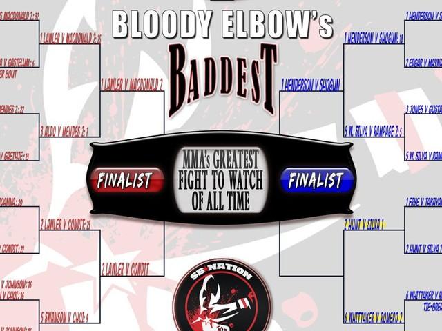 BE's Greatest MMA Fight of All Time Tournament - QUARTER FINALS: #2 Hunt vs. Bigfoot 1 VS. #6 Whittaker vs. Romero 2