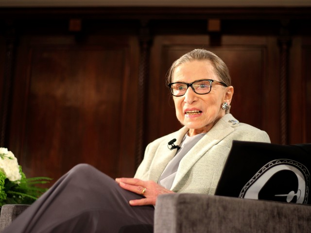 Justice Ruth Bader Ginsburg has malignant growths removed from lung, no signs of cancer remain