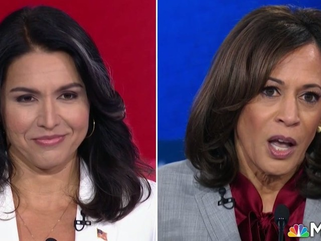 Kamala Harris rips into Tulsi Gabbard for being an Assad apologist and Fox News regular who criticizes her own party