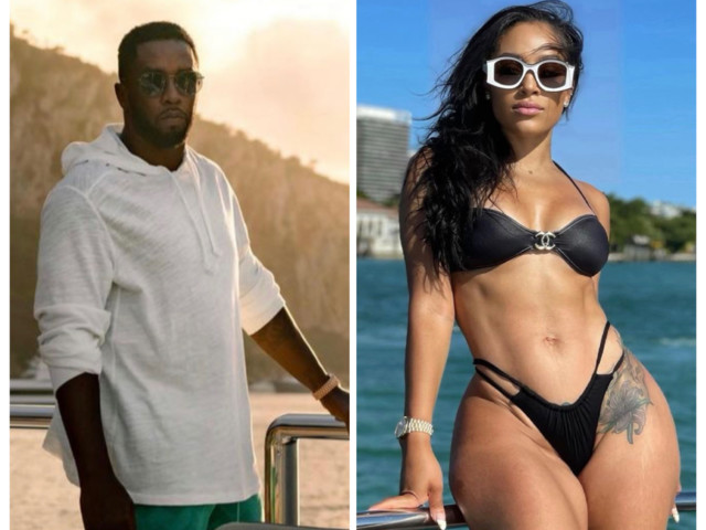 OH?! Diddy Caught Kissing Bow Wow & Future's Kids' Mother Joie Chavis On His Yacht In Italy