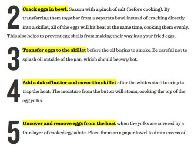Here's How to Cook the Perfect Fried Egg