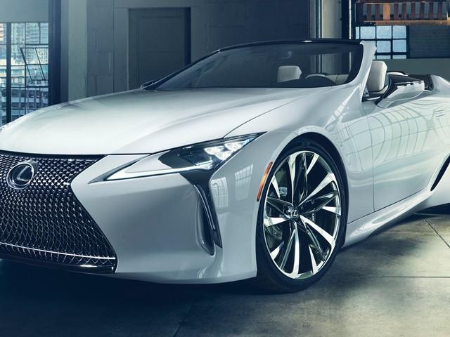 Production Lexus LC Convertible Set For Goodwood Debut