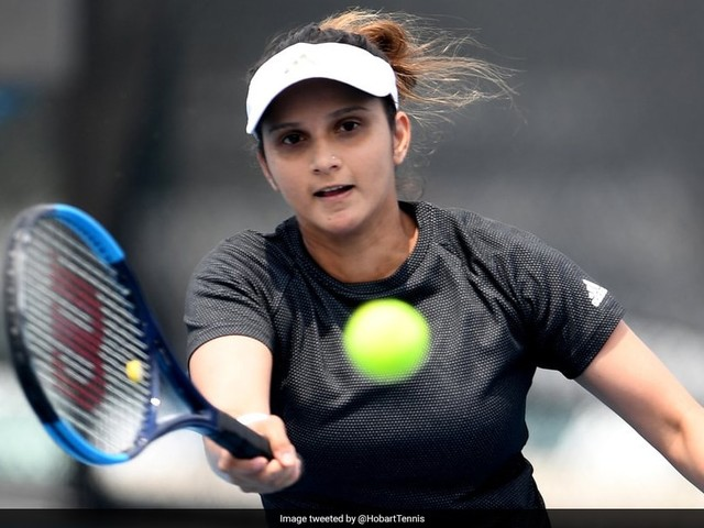 Sania Mirza Through To Women's Doubles Semifinals Of Hobart International
