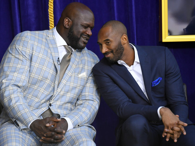 Shaquille O'Neal mourns the loss of 'my brother' Kobe Bryant