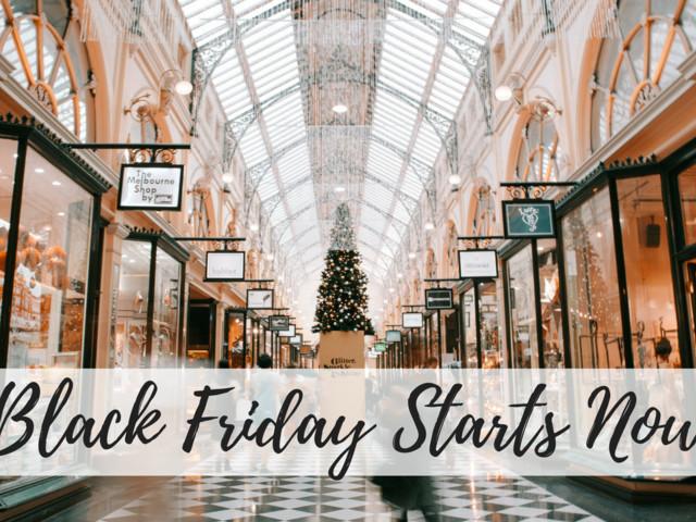Black Friday Deals   Online Start Times
