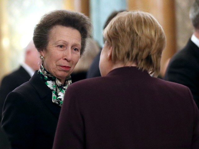 Princess Anne was amazingly shady about the Trumps at the BP NATO reception
