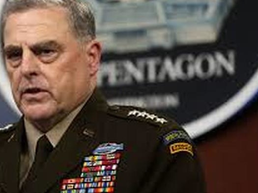 Should General Milley Be Relieved Of Duty?