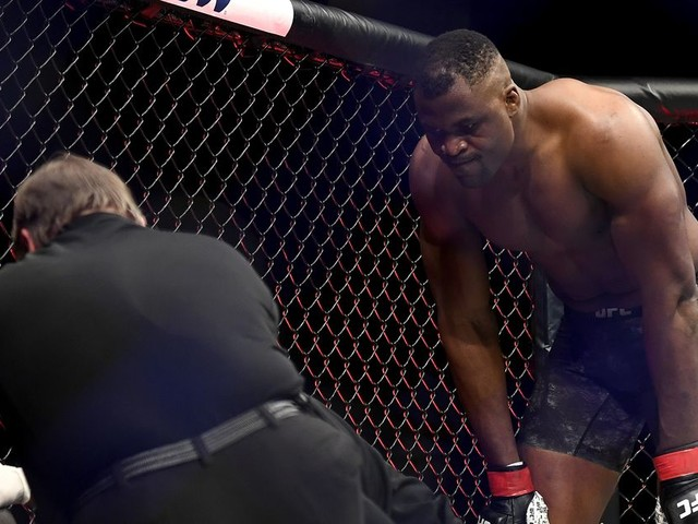 Video: Ngannou scores scary KO in 20 seconds at UFC 249