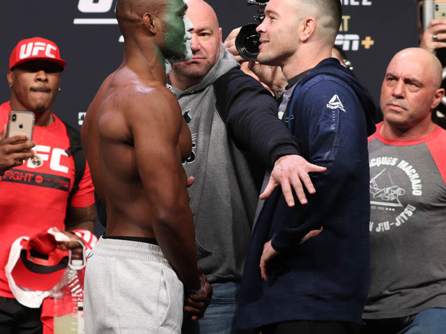 UFC 245 play-by-play and results