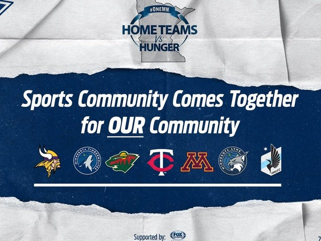 Local teams, media outlets launch Home Teams vs. Hunger
