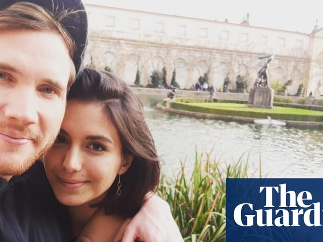 How we met: 'Luke fell on top of me and broke my arm'