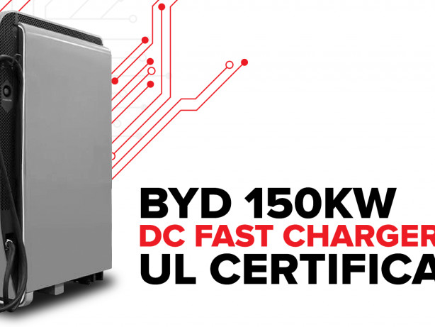 BYD 150KW DC Plug-in Charger Certified