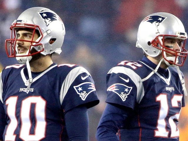 The tension between Tom Brady and Jimmy Garoppolo had been brewing for a long time, and a big decision was inevitable