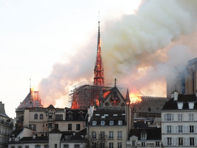 'A cultural tragedy': Politicians and public figures react to the massive blaze at Notre-Dame