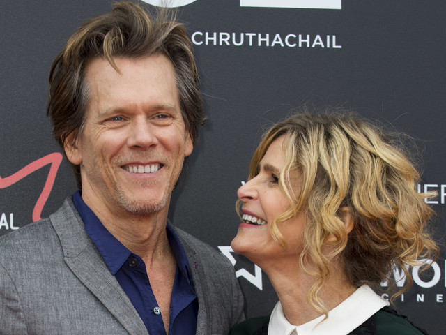 Kevin Bacon & Wife Kyra Sedgwick Team Up at 'Story of a Girl' World Premiere