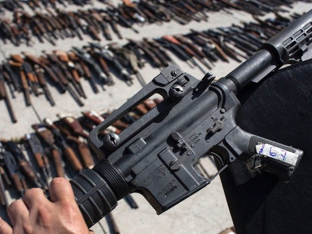 Mexico is suing US gun makers, arguing that millions of American guns have illegally flowed across the border and fueled homicide rates