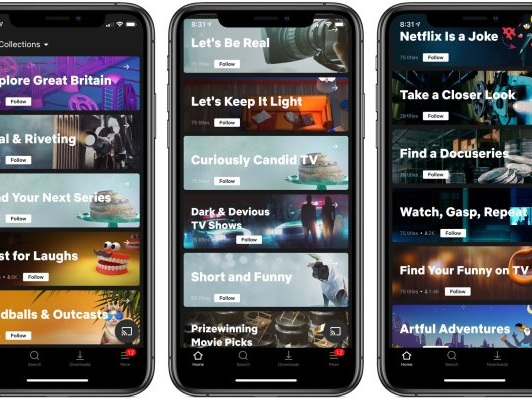 Netflix tests human-driven curation with launch of 'Collections'