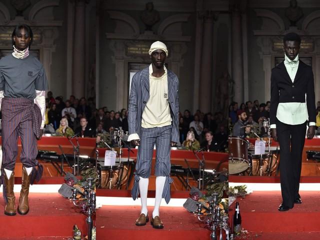 Pitti Uomo 97: Telfar brings brilliant baroque style to Florence