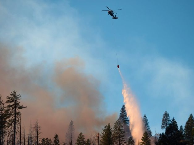 Pentagon Drafts Artificial Intelligence to Fight Wildfires