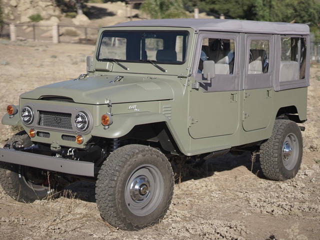 Icon Overhauls An FJ44 Toyota Land Cruiser With 780,000 Miles Under Its Belt