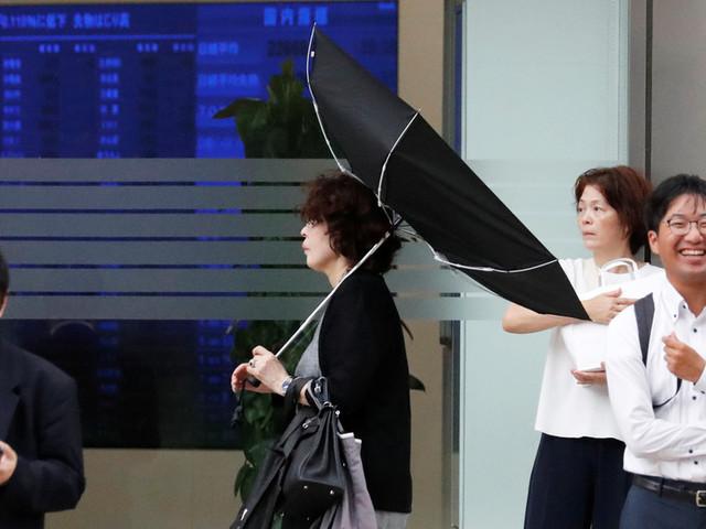 Tokyo cancels flights, shuts down trains ahead of Typhoon Faxai