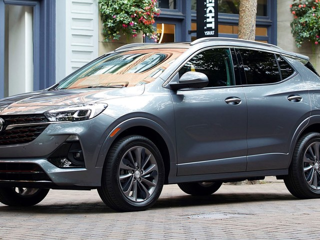2020 Buick Encore GX Debuts in U.S.-Market Trim With Turbo Power