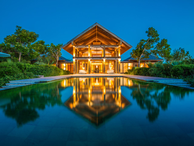 Point House, a Balinese-inspired sanctuary on the private island of...