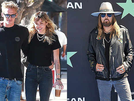 Miley Cyrus, Cody Simpson & Dad Billy Ray Perform Epic Version Of 'Old Town Road' Live