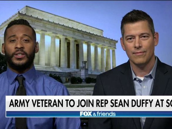 'Deplorable Vet' Blasts Maxine Waters, Will Attend State of Union With Sean Duffy