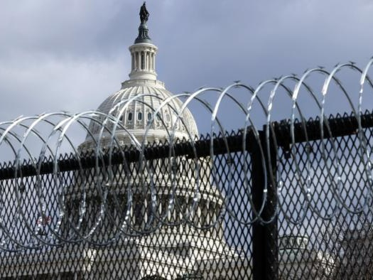 """Capitol Fencing To Go Back Up Ahead Of Sept. 18 """"Justice For J6"""" Rally"""